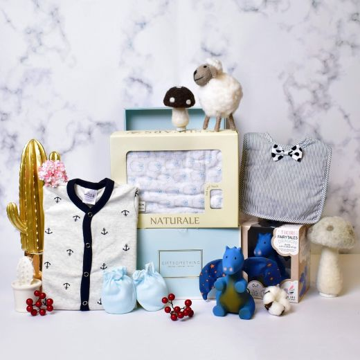 Comfy Gift Set for Baby Boy
