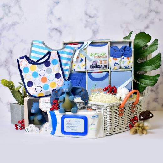 All Smiles Gift Set for Baby Boy