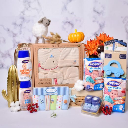 Baby Blooms Gift Hamper for Baby Boy