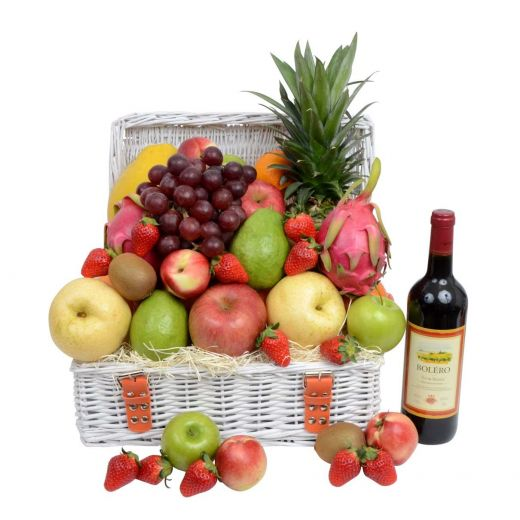 Corporate Wine & Fruit Hamper