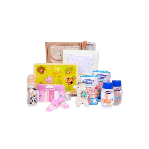 Baby Girl Relaxation Gift Hamper