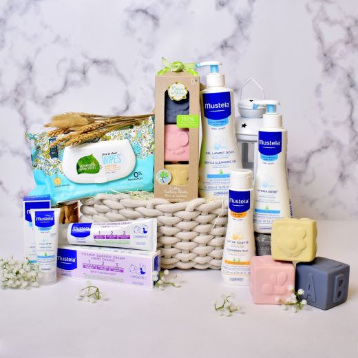 Mustela Set for New Born Baby